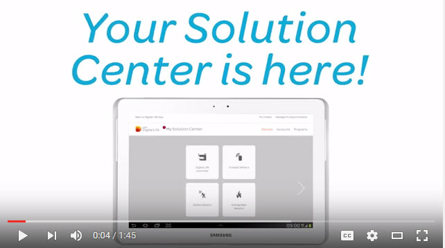 solution center youtube video