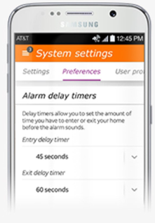Alarm App Screen