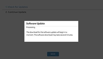 Software Update shot