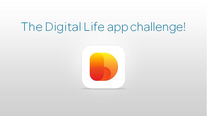 The Digital Life app challenge! image