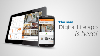 Digital Life App Update Tablet & Smartphone